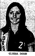 Picture of Gloria Dodd, Forsan High School Buffalo Queen basketball player.