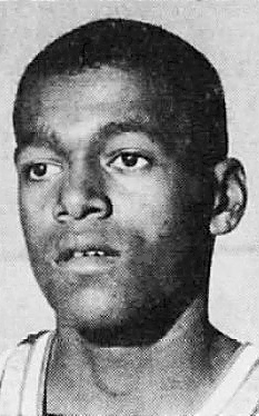 Portrait of Al Smith, basketball player for the Hamilton Watch team. Frim the Daily Intelligencer Journal, Lancaster, Pennsylvania, March 15, 1966.