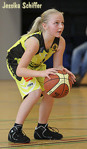 Jessika Schiffer, U-12 basketball player.
