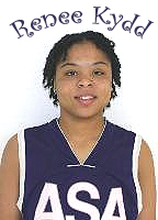 Image of ASA College Brooklyn basketball player Renee Kydd.