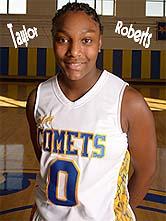 Picture of Taylor Roberts, Classen High Comets (Oklahoma girls basketball), number zero (#0).