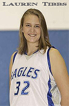Lauren Tibbs, Scott High Eagles basketball player, number 32.
