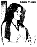 Picture of Claire Morris, Grand Prairie basketball player, from The Grand Prairie Daily News, Grand Prairie, Texas, May 2, 1976