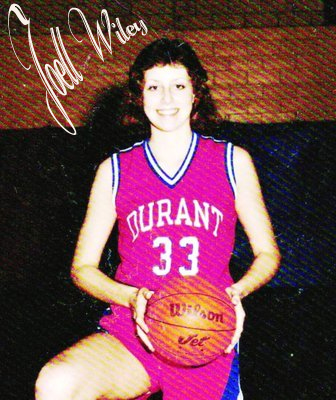 Joell Wiley, Durant High School basketball player, 1983-86