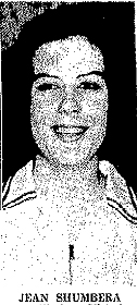 Jean Shumbera picture from The Advocate, Victoria, Texas, June 13, 1967