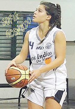 Image of Sofia Acevedo in action.