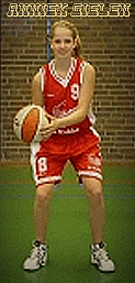 Anniek Gielen, Dutch basketball player for the B.A.S. U16 (16 and under) team