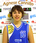 Picture of Agnese Cannillo, in basketball uniform,
