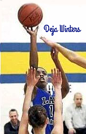 Deja Winters, Richmond Heights High, Ohio, going up for a shot.
