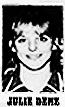 Julie Denz, Fort Madison Aquinas High School girls basketball player, a Don. Six-foot, 1-inch junior.