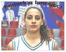 Federica Iannucci, Pozzuoli Under-19 basketball player, 2011.