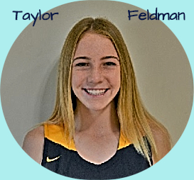 Profile picture of Taylor Feldman, girls freshman basketball player in 2018-19 for Crean Lutheran High School in California. In blue uniform