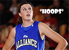Jordan Hooper, i blue Alliance (H.S.) Bulldogs girls basketball player.