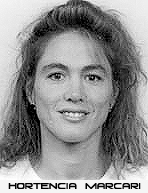 Image of Hortencia Marcari, Minercal, Brazil basketball player who scored 124 points in one Sao Paulo Tournament game.
