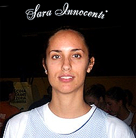 Sara Innocenti, Italian student basketball player for the Institute at Valdarno.