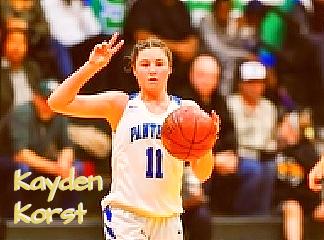 Kayden Korst, San Domenico High School girls basketball player, coming towards u
