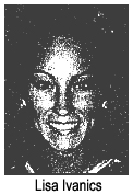 Picture of Lisa Ivanics, Foremost Forette basketball player, Alberta, Canada, Player of the week, From The Medicine Hat News, March 11, 2009.