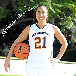 Makenzie Brandon, Occidental College basjetball player.