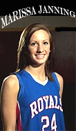Picture of MArissa Jenning, Watertown-Mayers Royal basketball player, number 24.