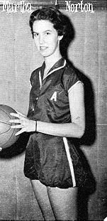 Martha Norton, Ayer High basketball player.