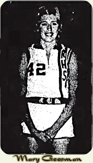 Cropped from team photo from the Estherville (Ia.) Daily News, Nov. 20, 1974. Standing, #42.