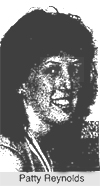 Portrait of Patty Reynolds, Valley Stream South. From Newsday, April 11, 1986.