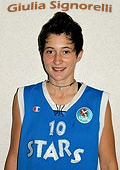 Giulia Signorelli, Stars Nova basketball player.