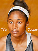 Te'a Cooper, McEachern High School (Georgia) girls basketball player.