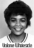 Portrait image of Valorie Whiteside, Appalachian College '88, women's basketball player