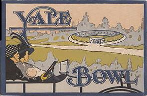 From program from opening of the Yale Bowl in 1914.