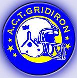 A.C.T. Gridiron logo.