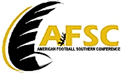 American Football Southern Conference )AFSC) logo.