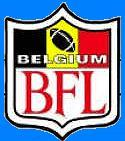 Belgium Football League (BFL) logo.