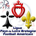 Ligue Pays de Loire Bretagne Football Americain logo.