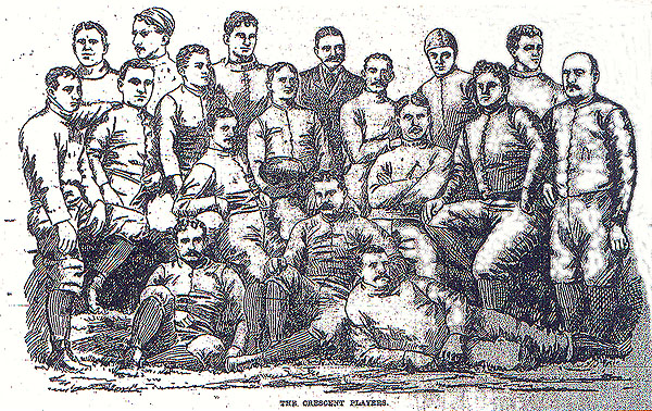 Crescent Athletic Club of Brooklyn Football Team, 1892.