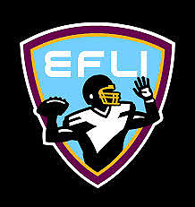 Elite Football League of India logo, American Football in India, Pakistan and Sri Lanka