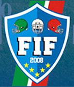 Federazione Italiana Footbal Americano (FIF) logo.