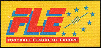 Football League of Europe (FLE) logo.