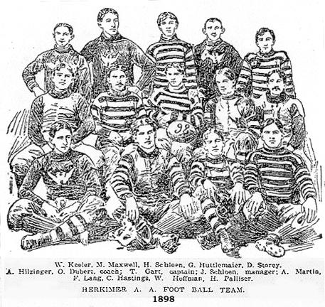 Herkimer Athletic Club Football team, 1898.