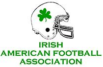 Irish American Football Association (NAFA) logo.
