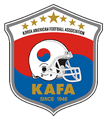 Korea American Football Association (KAFA) logo
