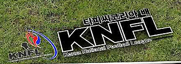 Korea National Football League (KNFL) logo.