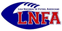 LNFA, Liga Nacional de Futnol Americano (Spain) logo.