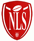 Logo for NLS, Nacionalna Liga Srbije, Serbian National League for American football.