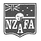 New Zealand American Football Association (NZAFA) logo.