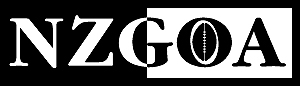 New Zealand Gridiron Officials Association (NZGOA) logo.