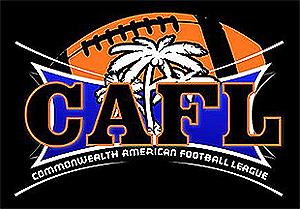 CAFL Commonwealth American Football League logo
