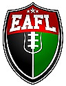 Emirates American Football League (EAFL) logo.