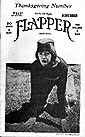 Thumbnail of image at Women's Professional Football history page ( http://pattyinglishms.hubpages.com/hub/Womens-Professional-Football# ). Cover of The Flapper magazine, November 1922. Actress Billie Dove, as female football player, snapping the ball.