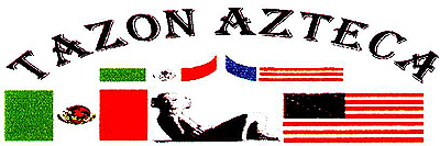 Logo for Tazon Azteca, the American Football bowl game that takes place in Mexico against an American team.